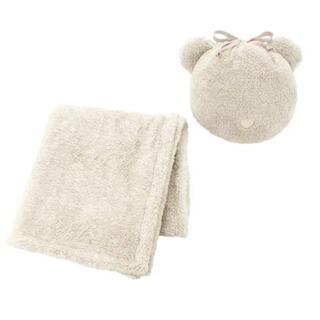ジーユー(GU)のGU 購入品 マシュマロフィールアニマルブランケット (毛布)