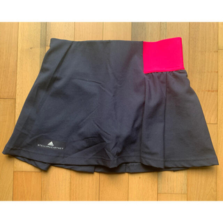 adidas by Stella McCartney - アディダス  stella macartney  ステラ ネイビー スコートXS