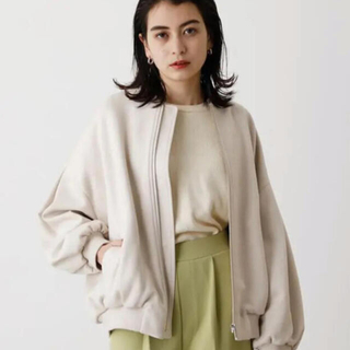 AZUL by moussy - アズール  ECO SUEDE BLOUSON/エコスエードブルゾン