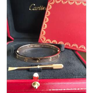 Cartier - カルティエ ラブブレスレット 17 PG