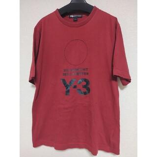 Y-3 - Y-3 刺繍ロゴTシャツ 18aw バーガンディー S