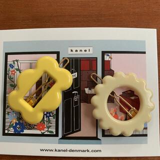Caramel baby&child  - kanel 新作フラワー&スクエアヘアピンセット