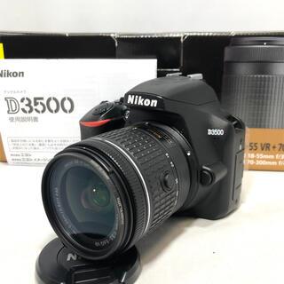 Nikon - Nikon D3500 AF-P18-55レンズKIT 極美品メーカー保証残アリ