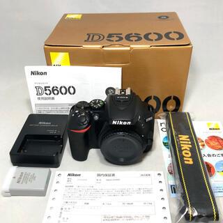 Nikon - 新品級 Nikon D5600 ボディ 234ショット極美品