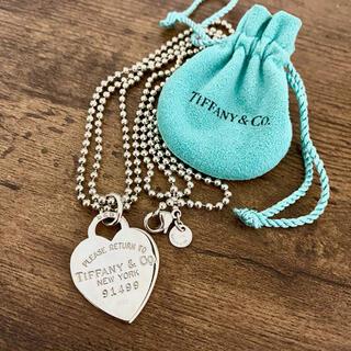 Tiffany & Co. - 美品 ティファニー リターントゥハート ネックレス