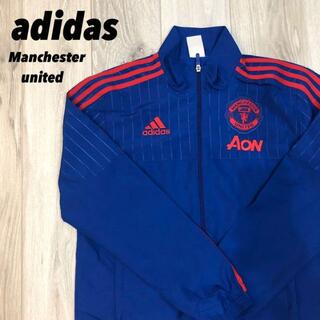 アディダス(adidas)の【美品】adidas Manchester United コラボ商品 レア商品(ナイロンジャケット)