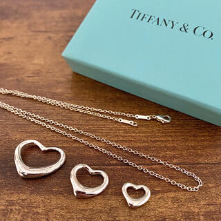 ティファニー(Tiffany & Co.)の3個セット‼︎ 美品ティファニー オープンハート チェーン&トップ3種セット(ネックレス)