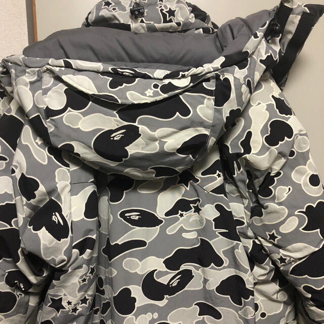 A BATHING APE(アベイシングエイプ)のA BATHING APE ダウンジャケット メンズのジャケット/アウター(ダウンジャケット)の商品写真