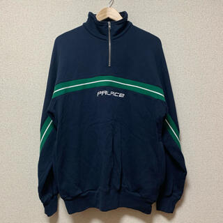 Supreme - palace skateboards half zip line sweat
