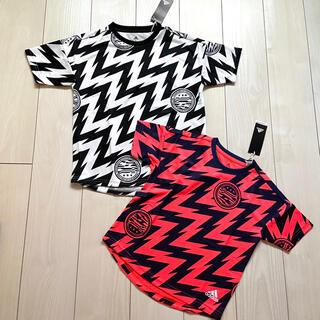 adidas - 新品 adidas Tシャツ 120 140 セット売り 兄弟 お揃い 色違い