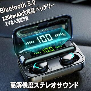【2021NEWモデル】ワイヤレスイヤホン イヤフォン LEDデジタル