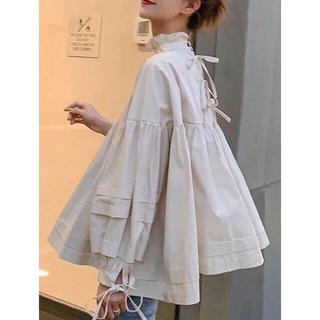 ZARA - 新品 back ribbon blouse