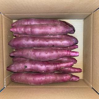 さつまいも【紅はるか】3kg1箱 Mサイズ A品 茨城県鉾田市産
