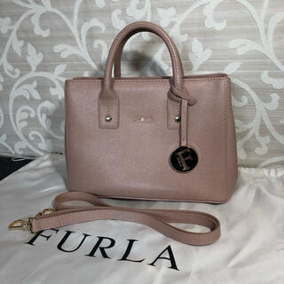 Furla - フルラ(Furla) リンダ レディース レザー ハンドバッグ ピンク