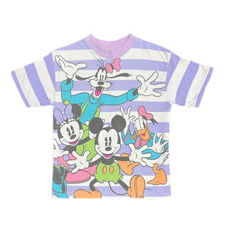 Disney - アメリカ古着 ミッキーフレンズTシャツ