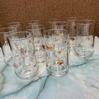 キリン(キリン)のKIRIN LEMON 昭和レトロなグラス 10個set  匿名発送(グラス/カップ)