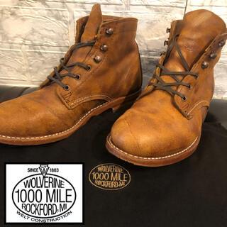 ウルヴァリン(WOLVERINE)のウルヴァリン wolverine 1000mile 1000マイル ブーツ (ブーツ)