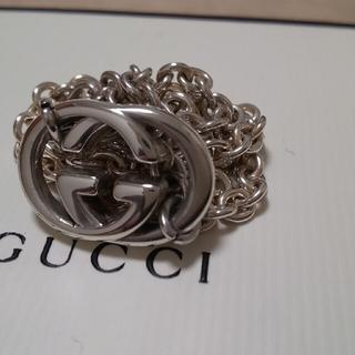 Gucci - GUCCI インターロッキング WG シルバー925 ネックレス