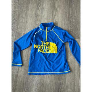 THE NORTH FACE - 着用2回のみ ラッシュガード 水着 長袖 130 ノースフェイス