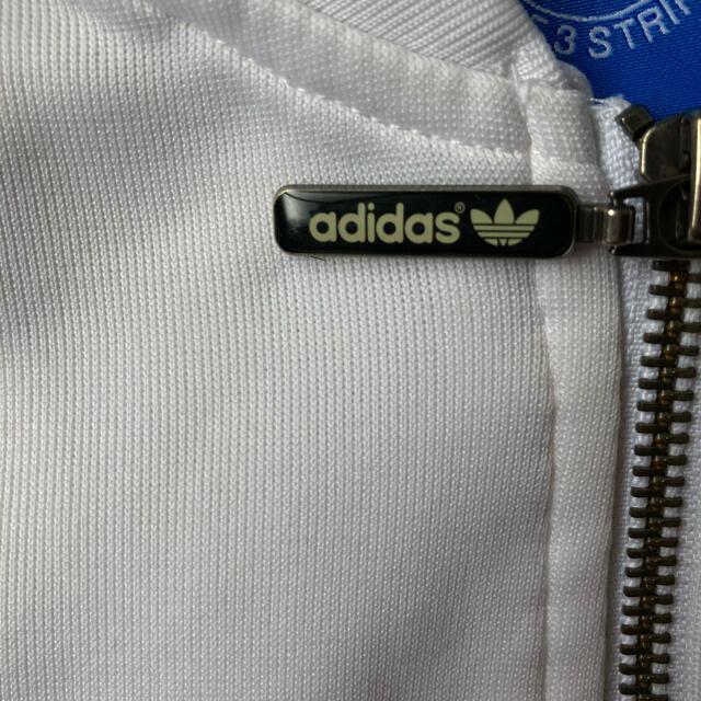 adidas(アディダス)のadidas Truck suit white×navy M メンズのトップス(ジャージ)の商品写真