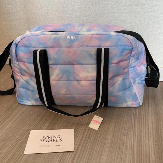 Victoria's Secret(ヴィクトリアズシークレット)のVictoria's secret 新品 ジムバッグ レディースのバッグ(トートバッグ)の商品写真