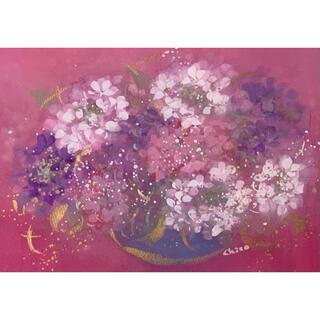 手書き作品 「紫陽花」