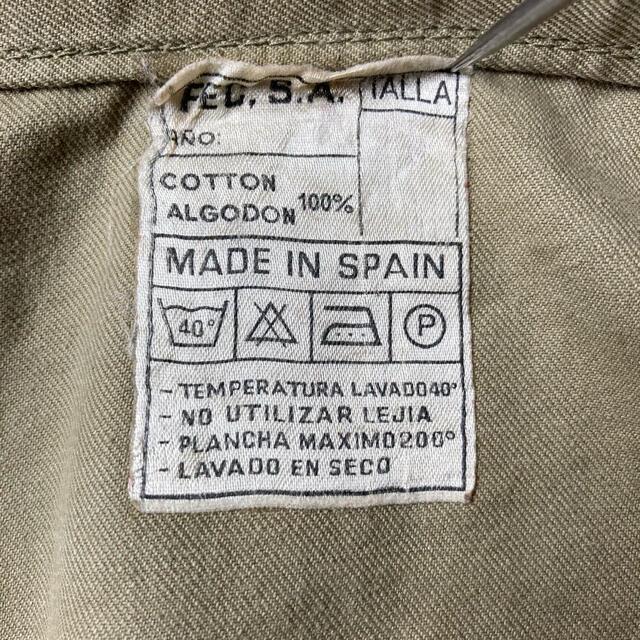 Maison Martin Margiela(マルタンマルジェラ)のマルジェラ元ネタ スペイン軍 ミリタリー プルオーバー シャツジャケット 希少 メンズのジャケット/アウター(ミリタリージャケット)の商品写真