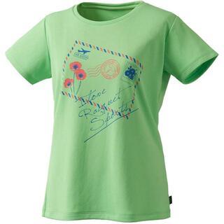 プリンス(Prince)のプリンス レディースTシャツ グリーンL 定価3850円 WL9040(ウェア)