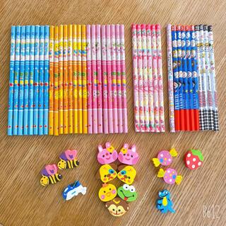 鉛筆&消しゴムセット♪(消しゴム/修正テープ)