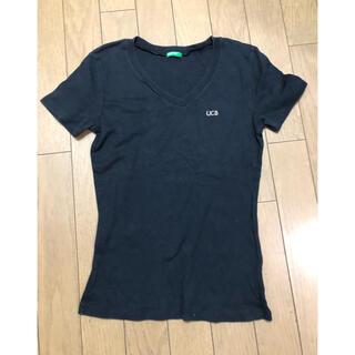 ベネトン(BENETTON)の黒半袖Tシャツ ベネトン S(Tシャツ(半袖/袖なし))