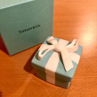 ティファニー(Tiffany & Co.)のTIFFANY&CO ティファニー ミニブルーボウボックス(小物入れ)