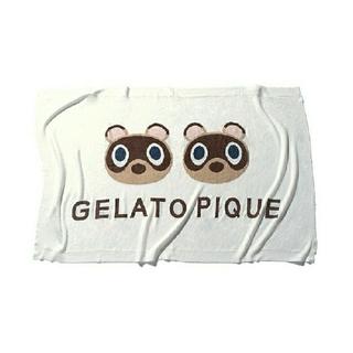 gelato pique - New春夏ジェラートピケあつ森  スムーズィーつぶまめジャガードブランケット
