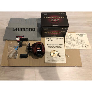 シマノ(SHIMANO)のスコーピオン XT(リール)