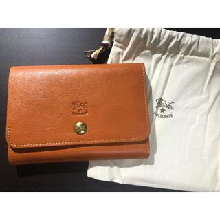 IL BISONTE - 【新品未使用】イルビゾンテ 二つ折り  財布  キャラメル ヤキヌメ