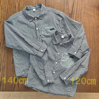 美品 シャツ セット 140 120(ブラウス)