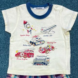 ファミリア(familiar)のfamiliar  Tシャツ 80  Tシャツのみ(Tシャツ)