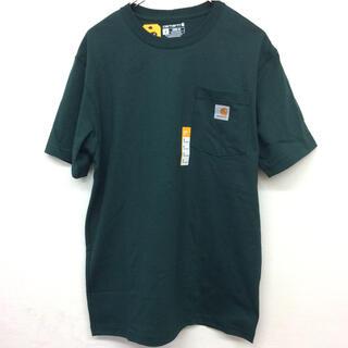 carhartt - カーハート t-シャツ S ハンターグリーン K87