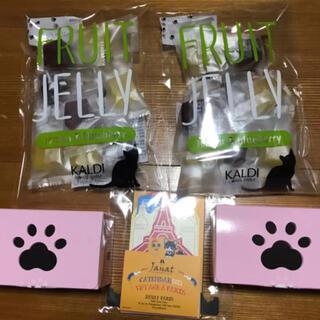 カルディ(KALDI)の新品 カルディ 猫の日バック ネコ型チョコレート フルーツジュレ カレンダー(菓子/デザート)