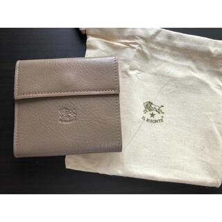 IL BISONTE - 【新品未使用】イルビゾンテ 二つ折り 財布  グレー トルトラ