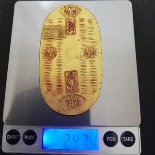 天保五両判 鑑賞品 24.7g(貨幣)