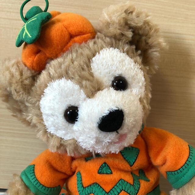 ダッフィー(ダッフィー)のダッフィー  かぼちゃ ハロウィン ぬいぐるみポーチ エンタメ/ホビーのおもちゃ/ぬいぐるみ(キャラクターグッズ)の商品写真