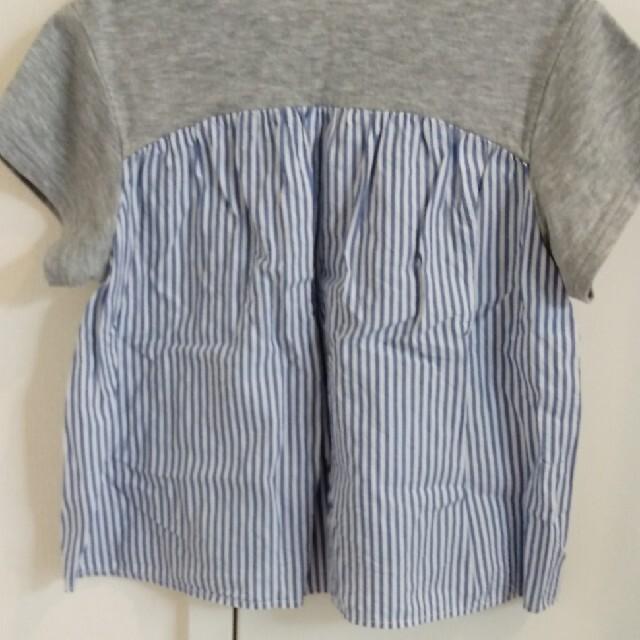 familiar(ファミリア)のファミリアAラインTシャツ キッズ/ベビー/マタニティのキッズ服女の子用(90cm~)(Tシャツ/カットソー)の商品写真