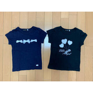 BeBe - [べべ]size:110(100~) Tシャツ2枚セット