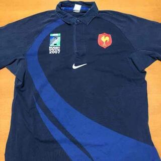 ナイキ(NIKE)のナイキ NIKE 長袖 シャツ ラガーシャツ ビッグシルエット XL(シャツ)
