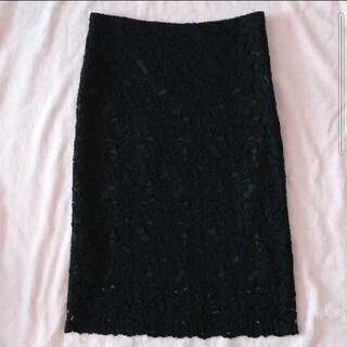 アンティックラグ(antic rag)の膝丈レーススカート(ひざ丈スカート)