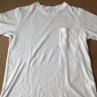 ビューティアンドユースユナイテッドアローズ(BEAUTY&YOUTH UNITED ARROWS)のTシャツ 白T タオル生地 ユナイテッドアローズ(Tシャツ/カットソー(半袖/袖なし))