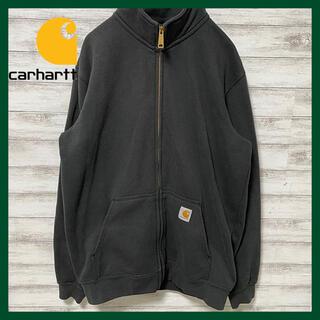 carhartt - 激レア カーハート フルジップスウェットジャケット 織タグ メキシコ製