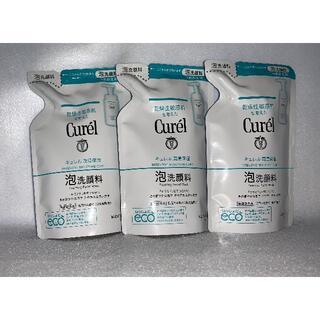 キュレル 泡洗顔料 つめかえ用 130ml 3コセット(洗顔料)