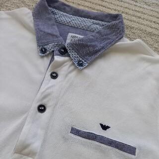 usedアルマーニジュニア14Aポロシャツ