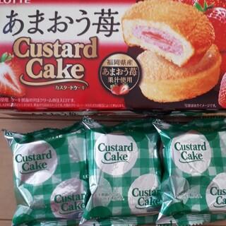 お菓子 カスタードケーキ(菓子/デザート)